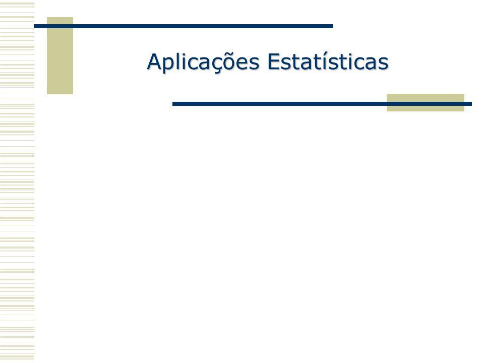 Aplicações Estatísticas