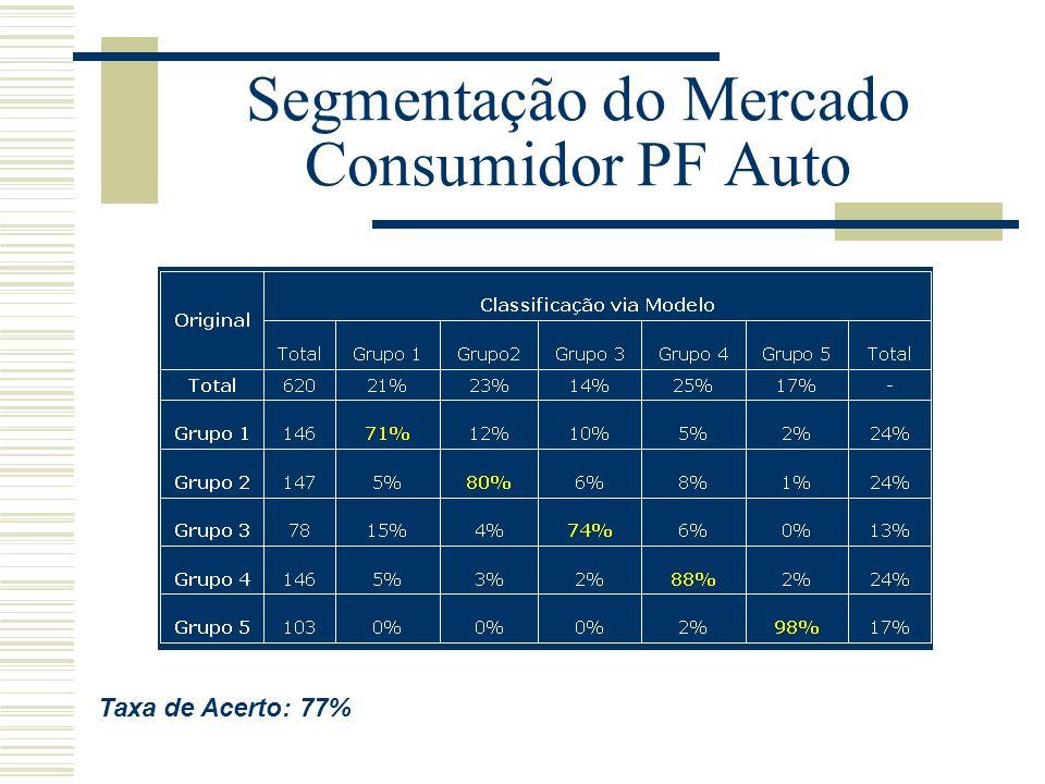 Segmentação do Mercado Consumidor PF Auto