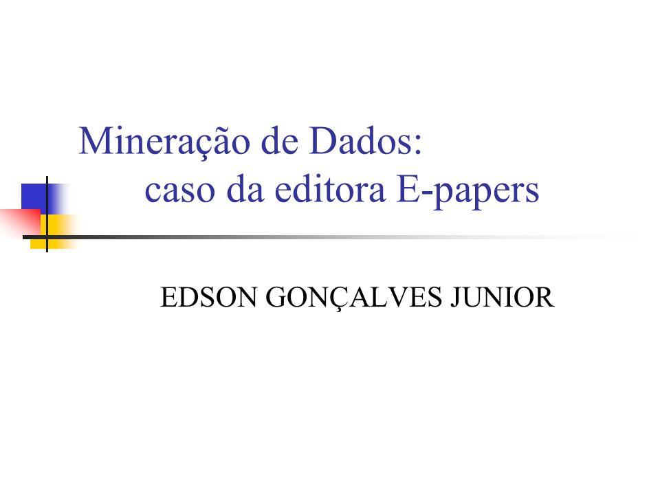 Mineração de Dados: caso da editora E-papers
