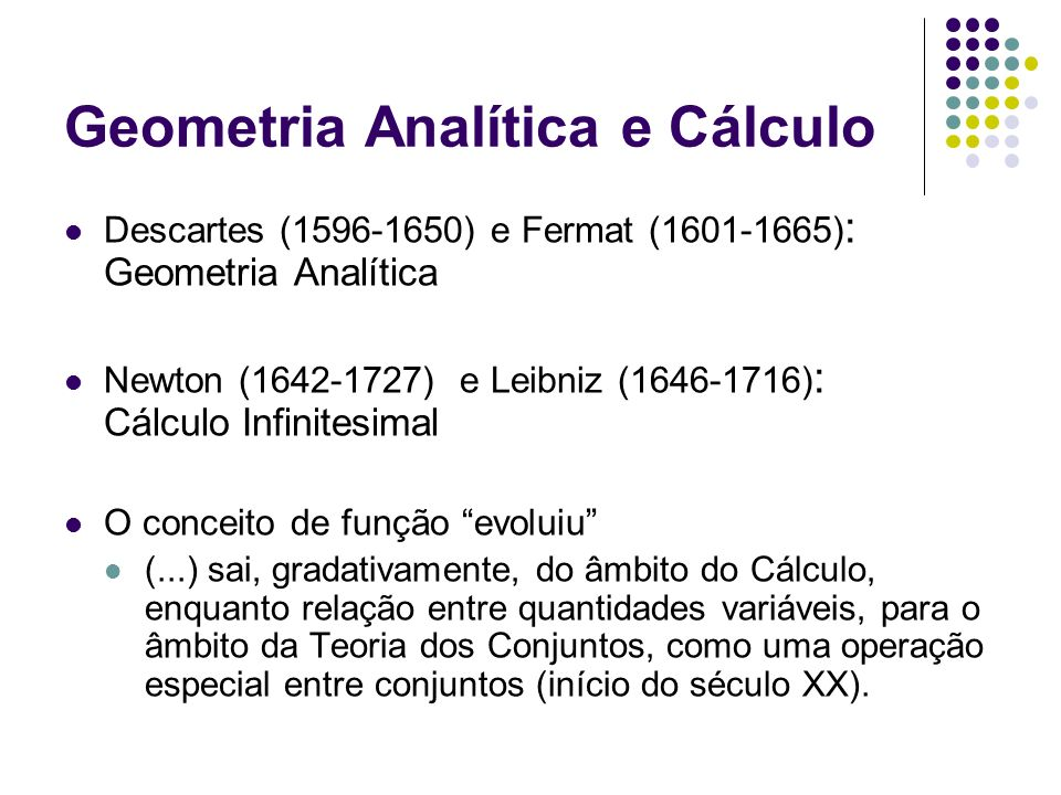 Geometria Analítica e Cálculo