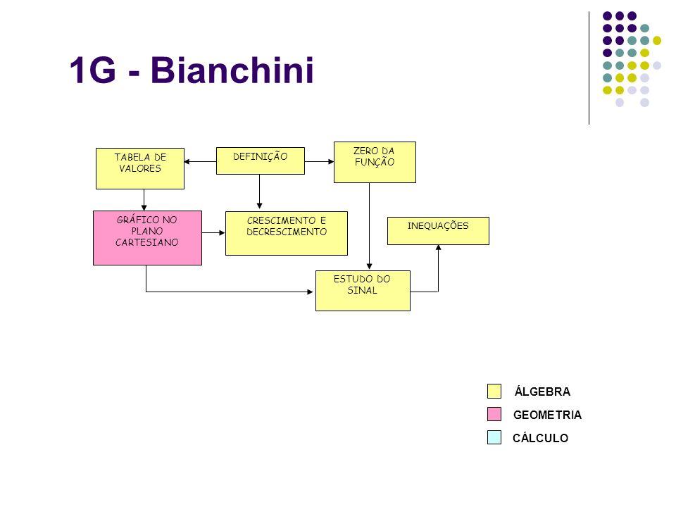 1G - Bianchini ÁLGEBRA GEOMETRIA CÁLCULO ZERO DA FUNÇÃO