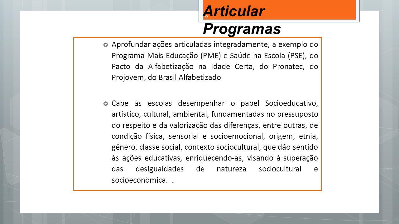 Articular Programas