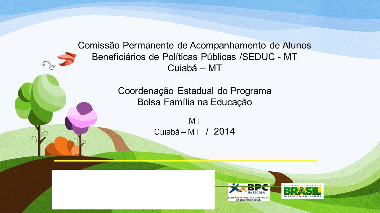 Coordenação Estadual do Programa Bolsa Família na Educação