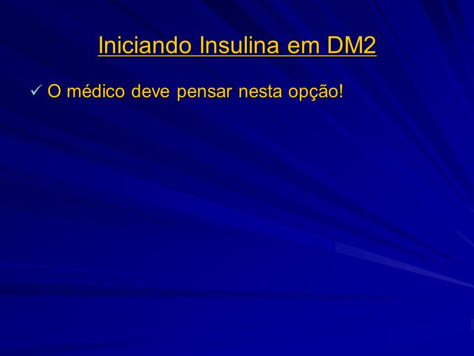 Iniciando Insulina em DM2
