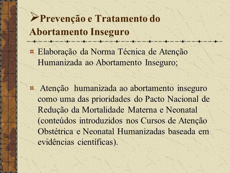 Prevenção e Tratamento do Abortamento Inseguro