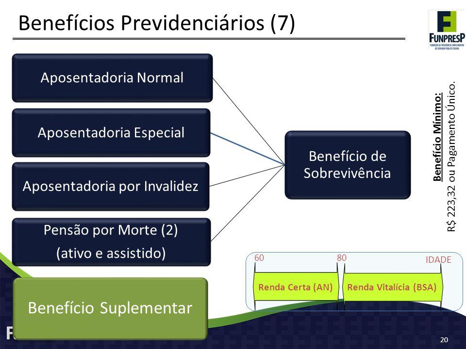 Benefícios Previdenciários (7)