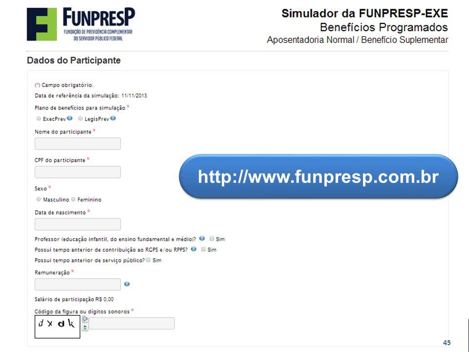 http://www.funpresp.com.br 45