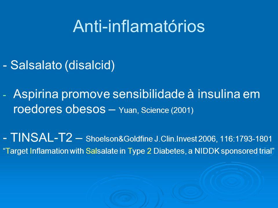 Anti-inflamatórios - Salsalato (disalcid)