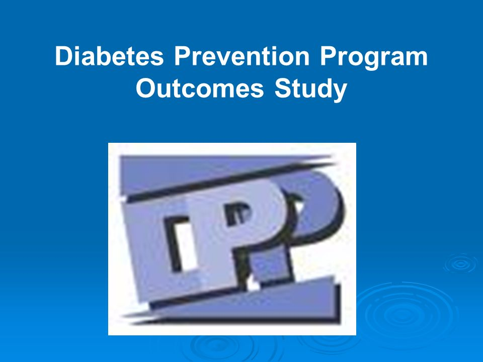 Diabetes Prevention Program Outcomes Study