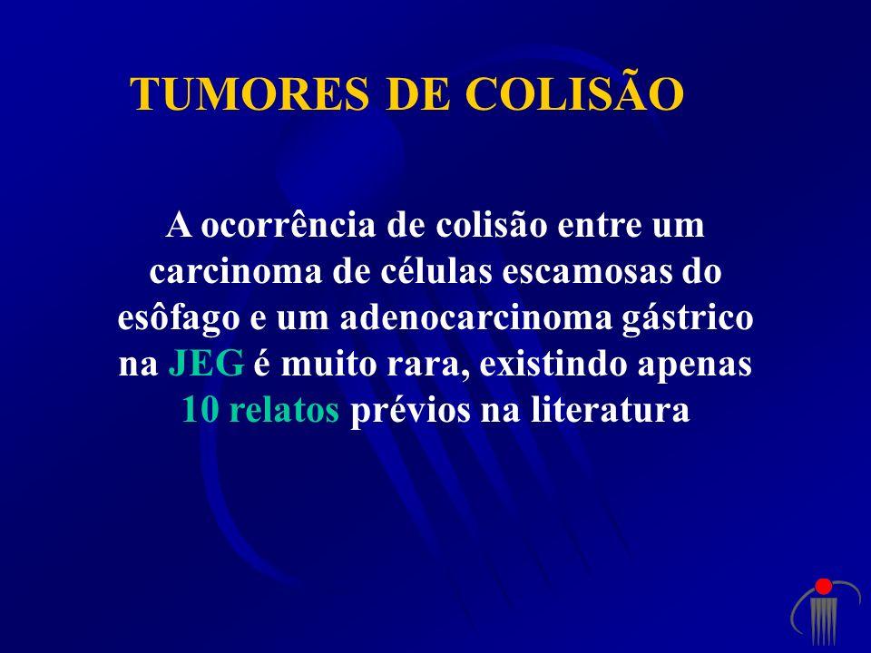 TUMORES DE COLISÃO