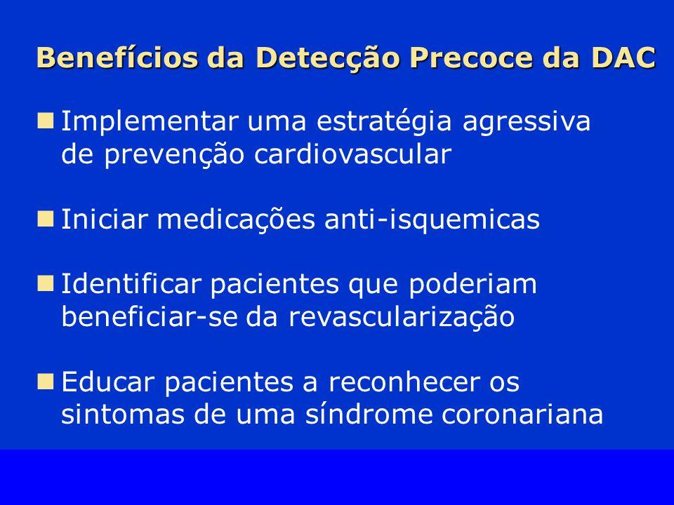 Benefícios da Detecção Precoce da DAC