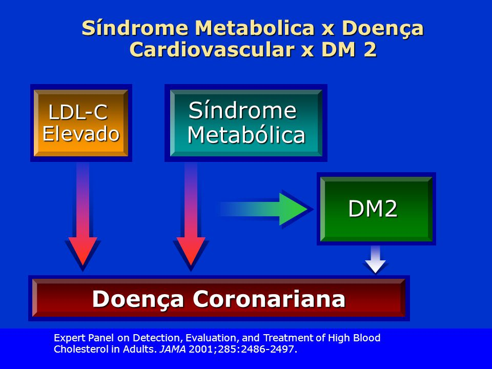 Síndrome Metabolica x Doença Cardiovascular x DM 2