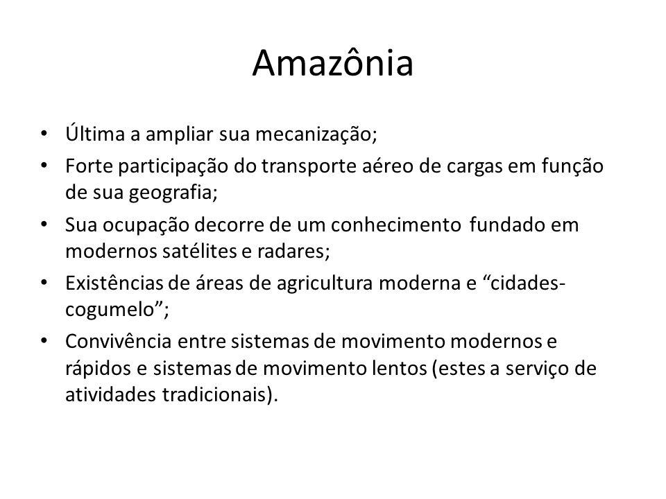 Amazônia Última a ampliar sua mecanização;