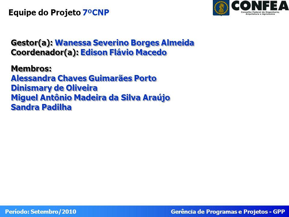 Equipe do Projeto 7ºCNP