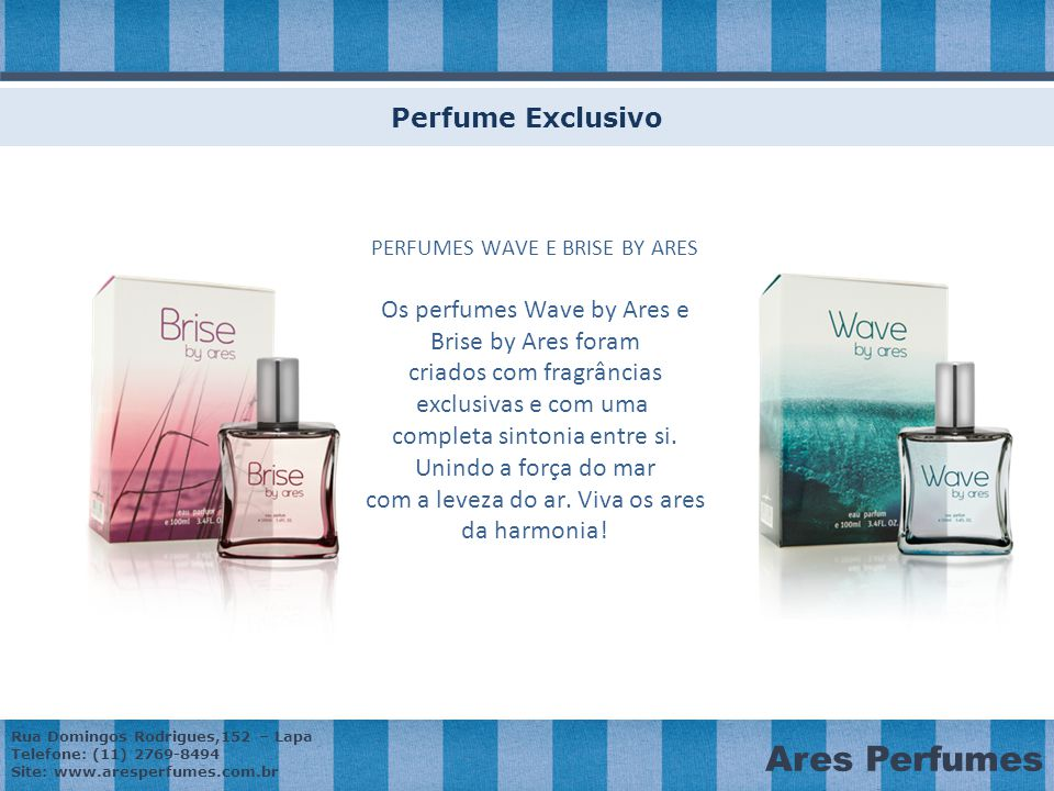 PERFUMES WAVE E BRISE BY ARES