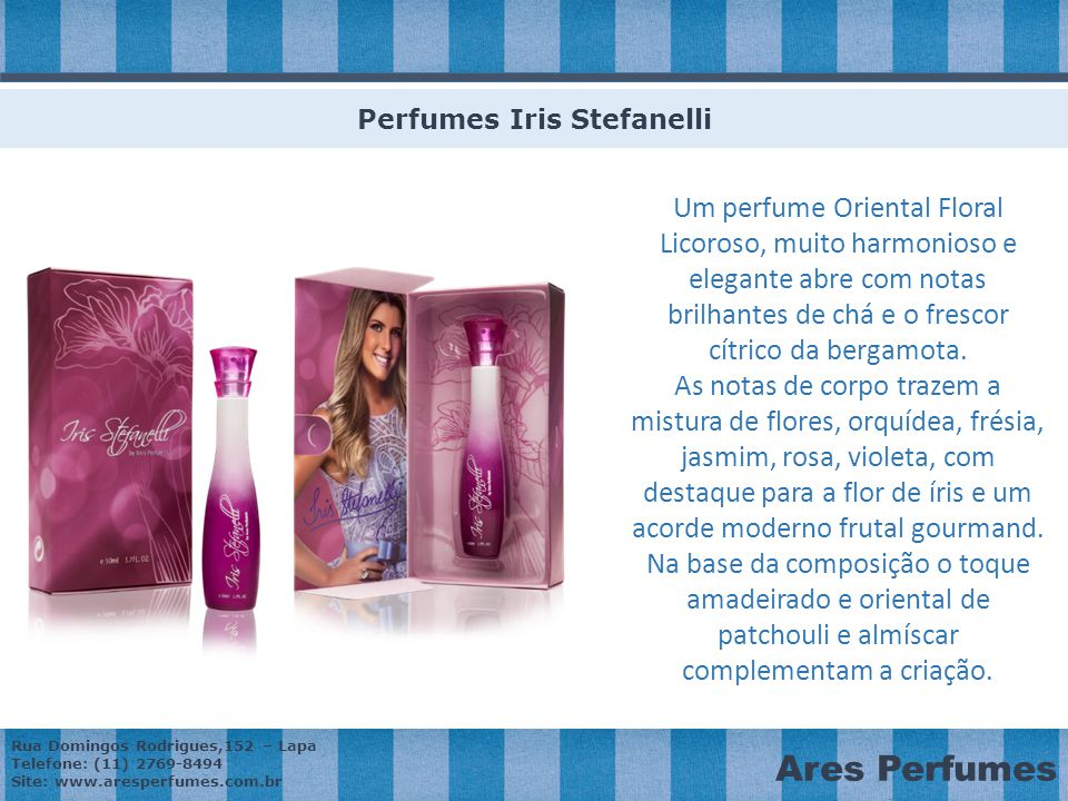 Perfumes Iris Stefanelli