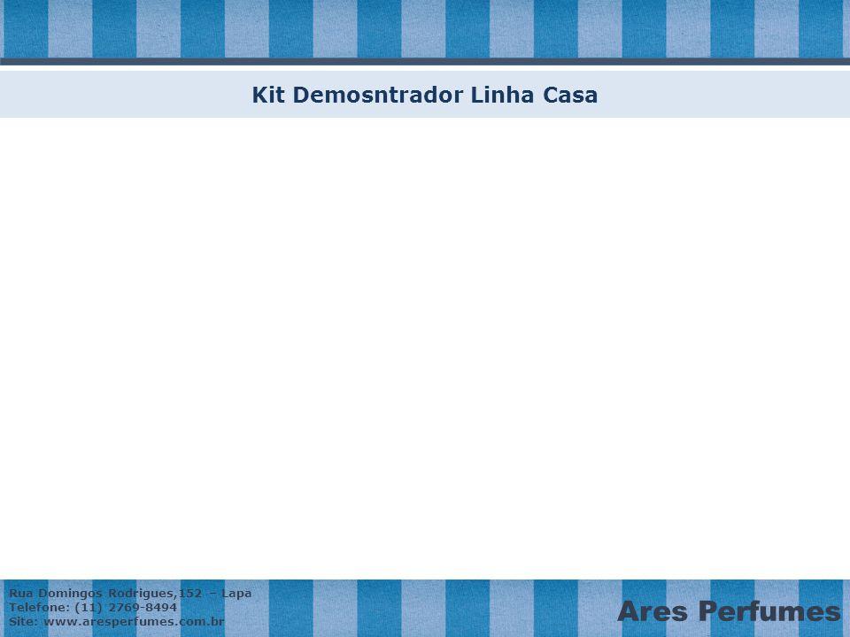 Kit Demosntrador Linha Casa