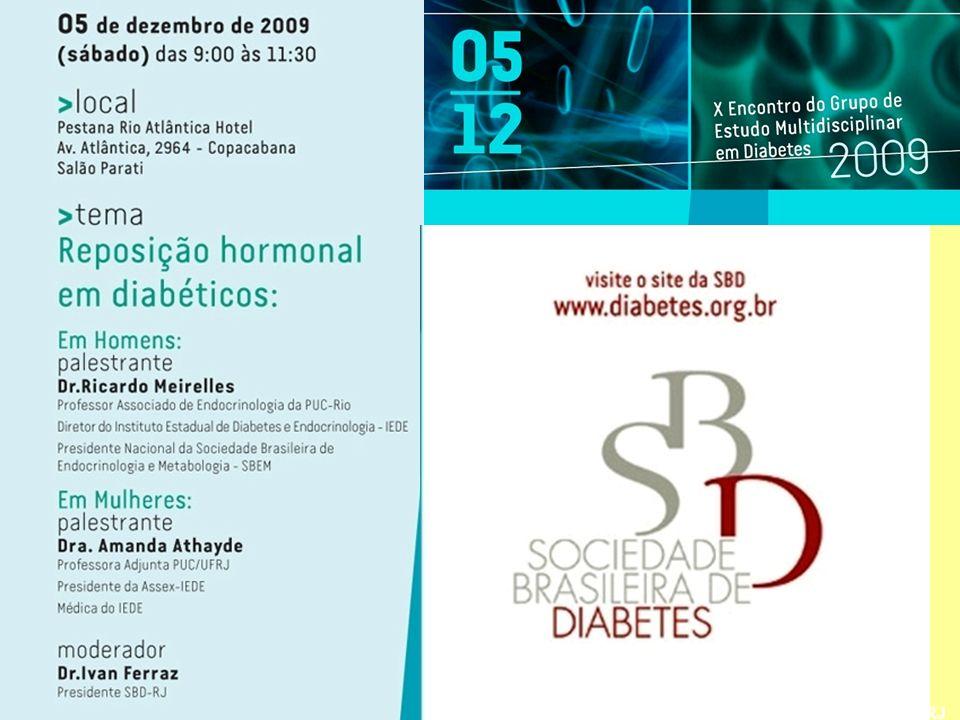 Reposição Hormonal em Diabéticas