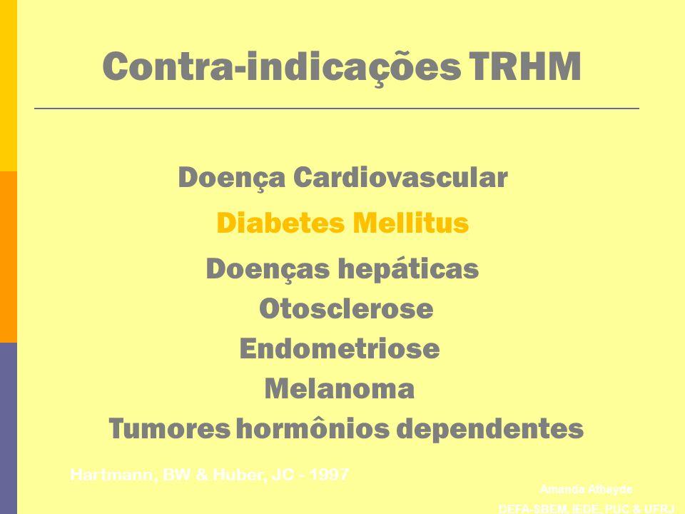 Contra-indicações TRHM