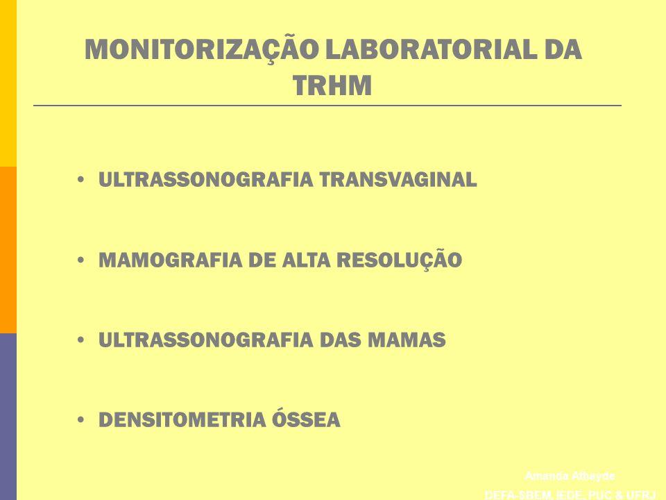 MONITORIZAÇÃO LABORATORIAL DA TRHM