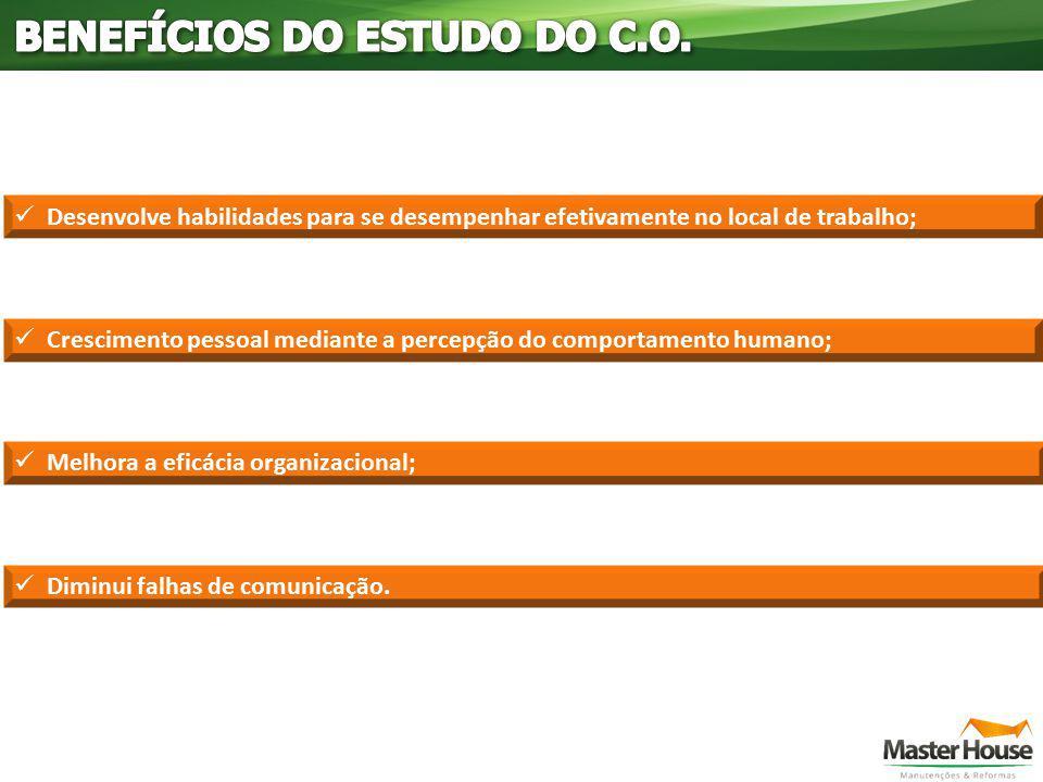 BENEFÍCIOS DO ESTUDO DO C.O.