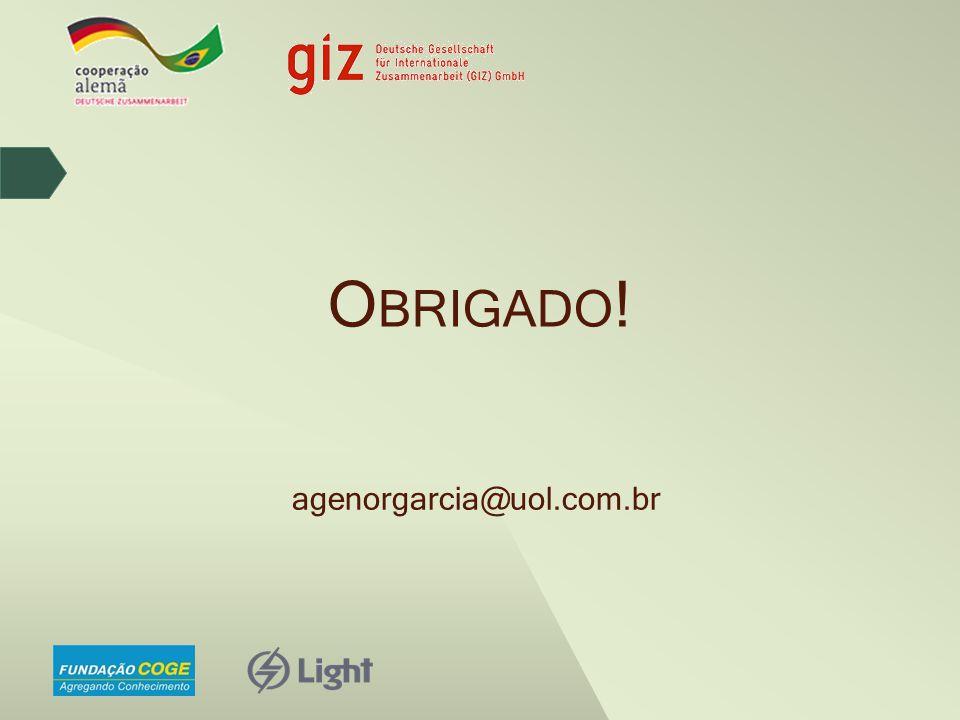Obrigado! agenorgarcia@uol.com.br