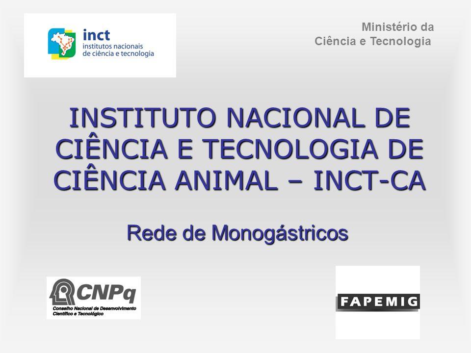 INSTITUTO NACIONAL DE CIÊNCIA E TECNOLOGIA DE CIÊNCIA ANIMAL – INCT-CA