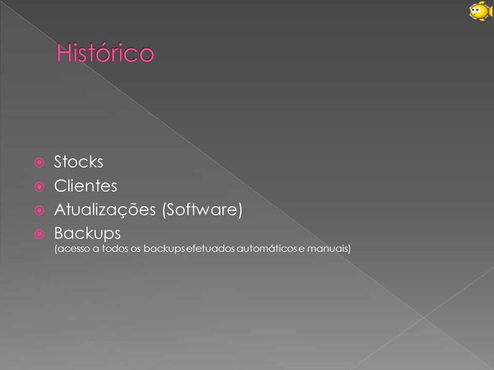 Histórico Stocks Clientes Atualizações (Software)