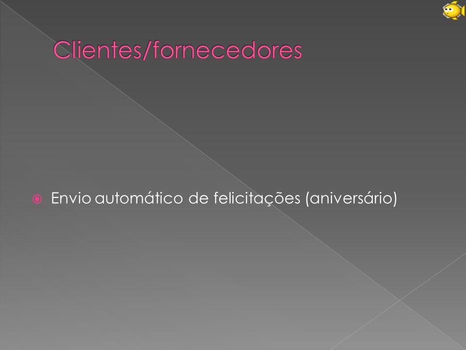 Clientes/fornecedores