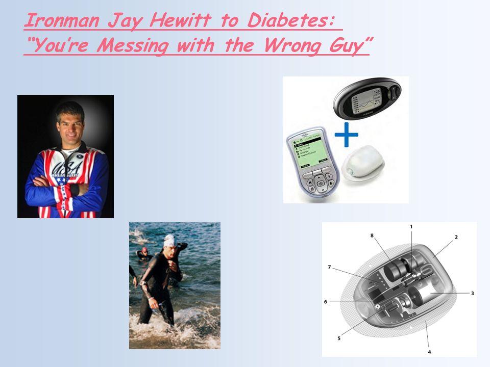 Ironman Jay Hewitt to Diabetes: