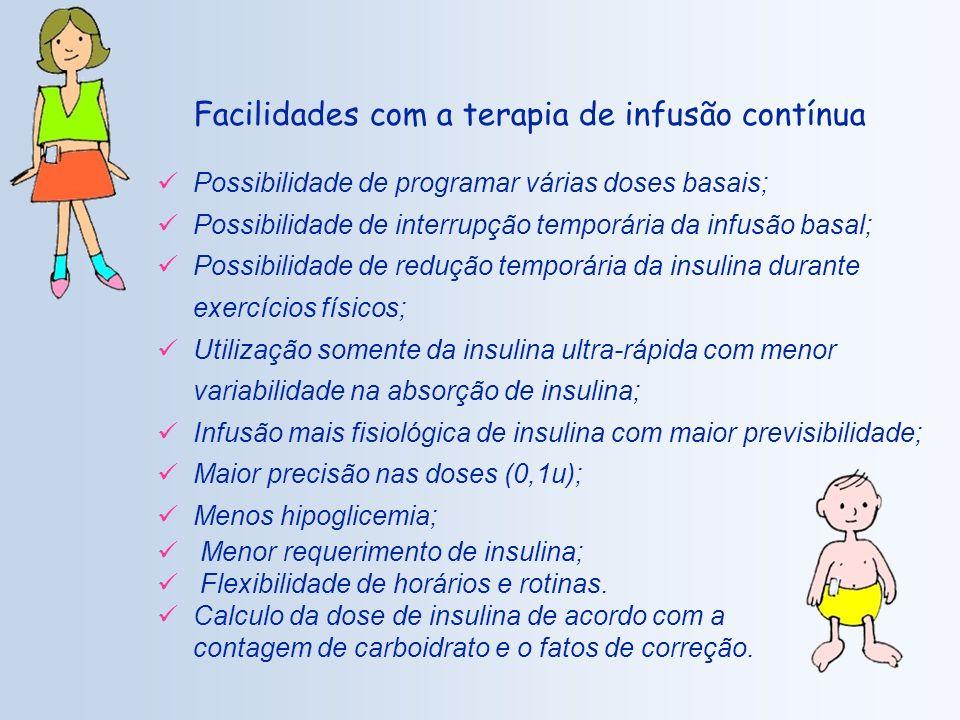Facilidades com a terapia de infusão contínua
