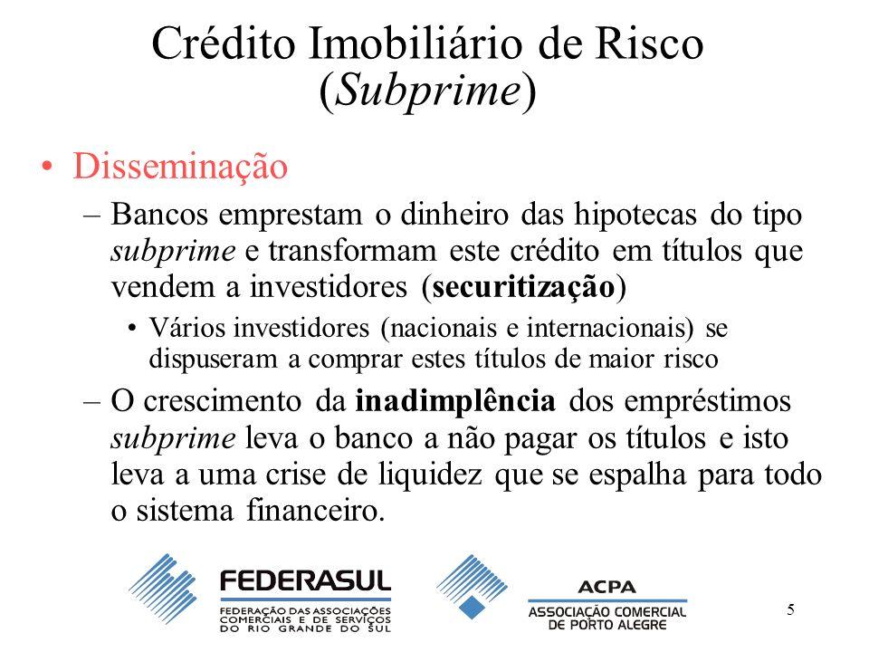 Crédito Imobiliário de Risco (Subprime)