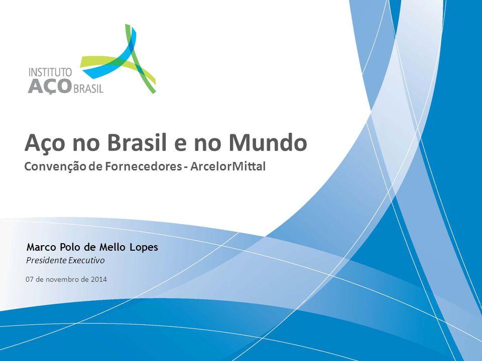 Aço no Brasil e no Mundo Convenção de Fornecedores - ArcelorMittal
