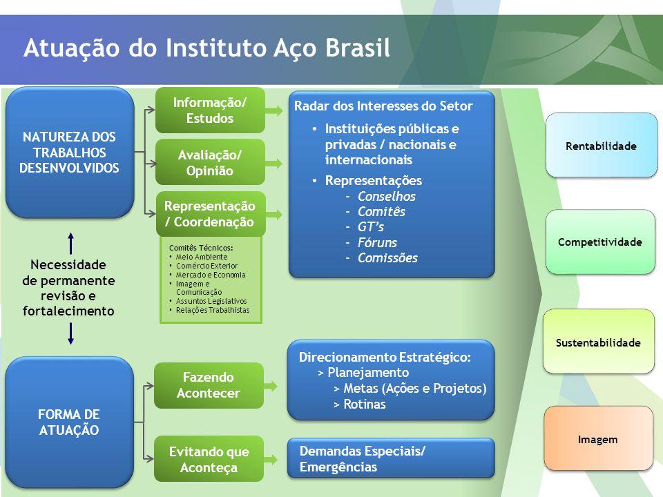 Atuação do Instituto Aço Brasil