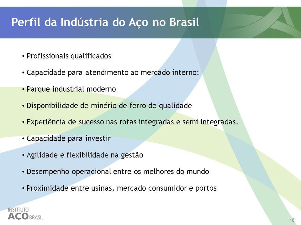 Perfil da Indústria do Aço no Brasil