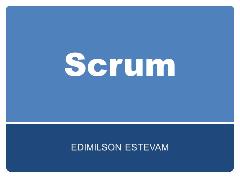 Scrum EDIMILSON ESTEVAM