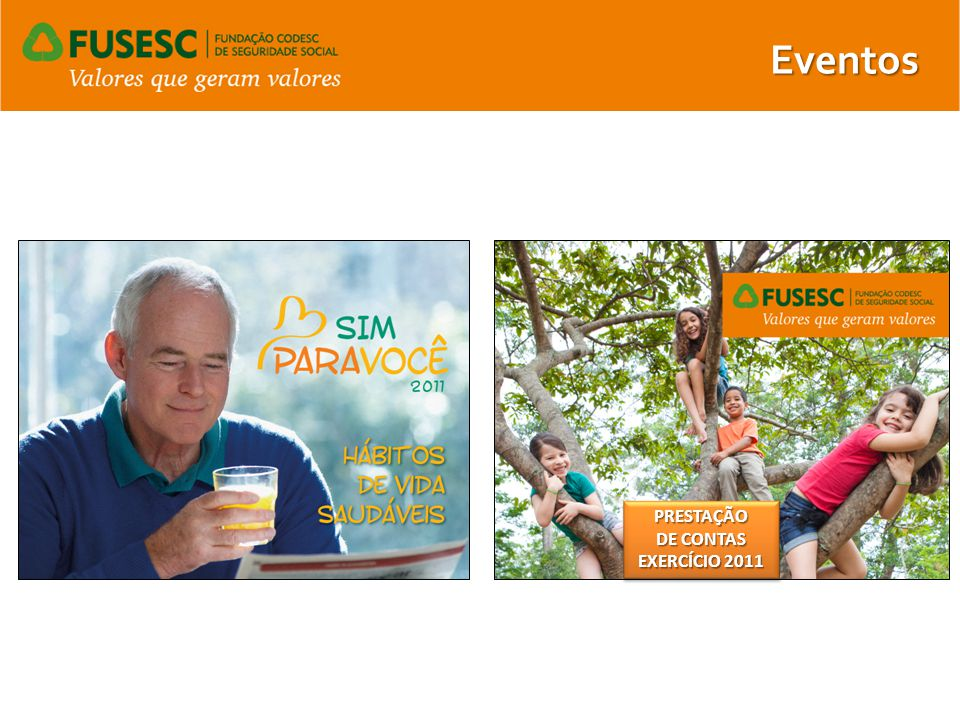 Eventos PRESTAÇÃO DE CONTAS EXERCÍCIO 2011