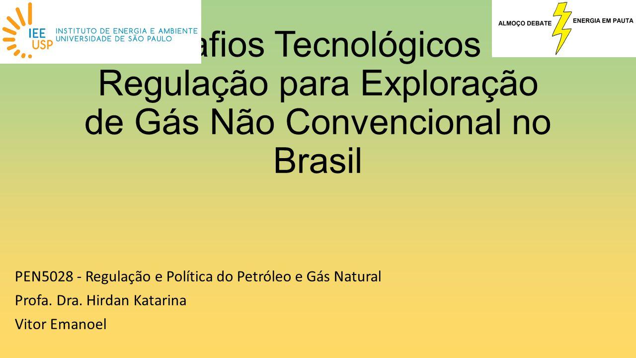 Desafios Tecnológicos e Regulação para Exploração de Gás Não Convencional no Brasil