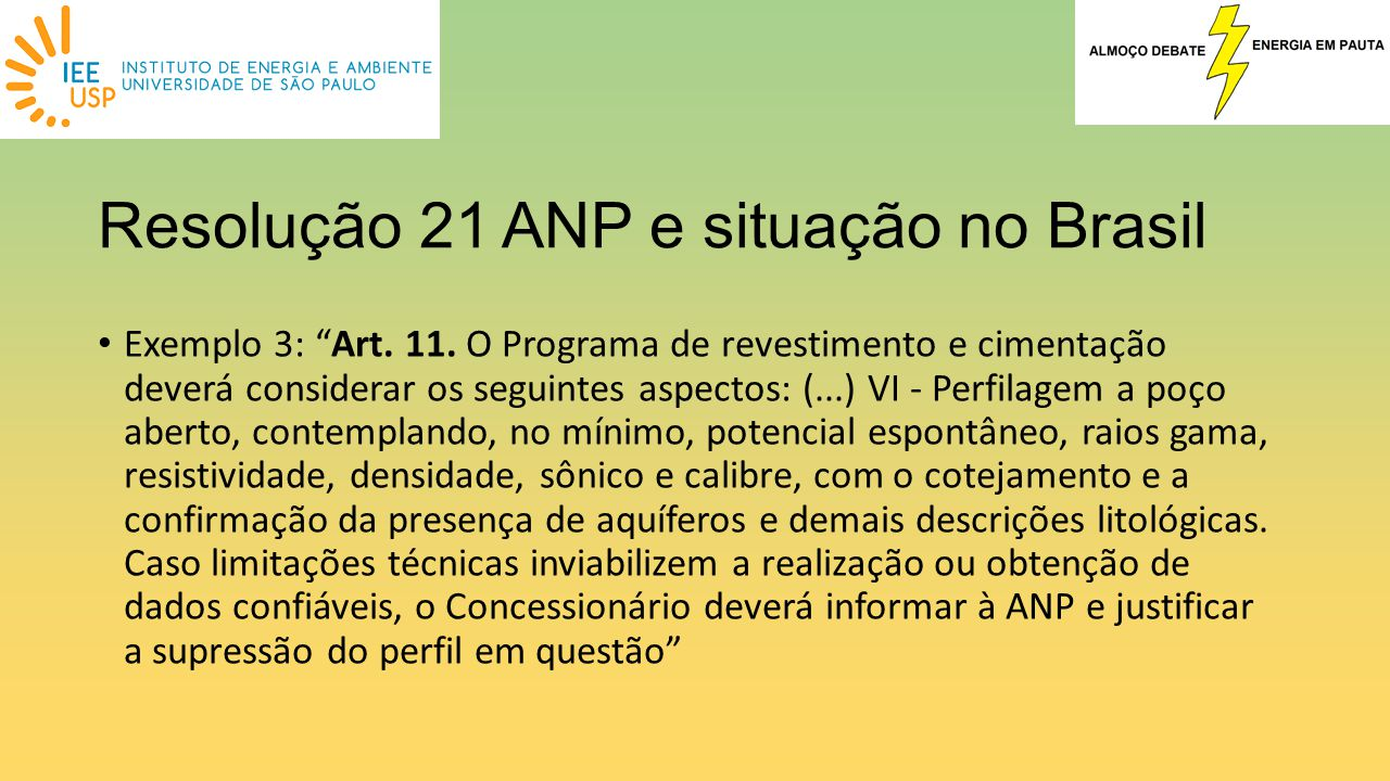 Resolução 21 ANP e situação no Brasil