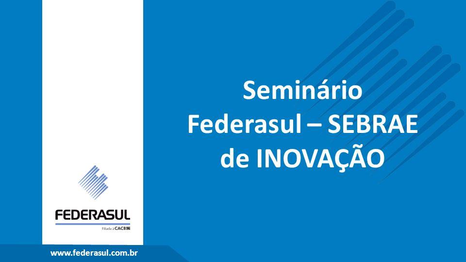 Seminário Federasul – SEBRAE de INOVAÇÃO