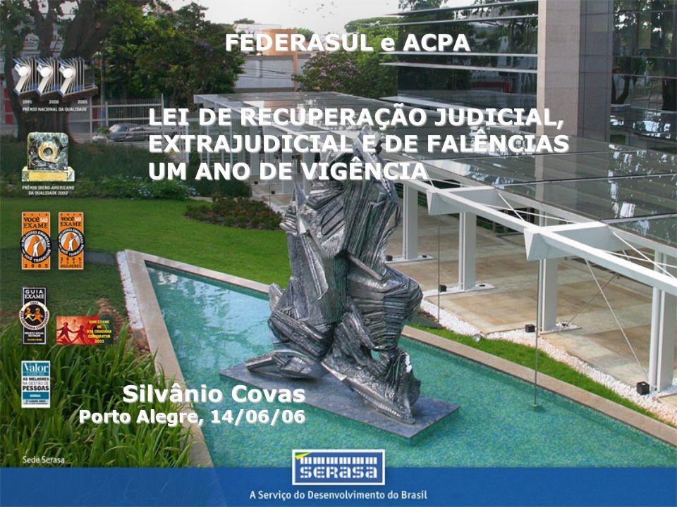 LEI DE RECUPERAÇÃO JUDICIAL, EXTRAJUDICIAL E DE FALÊNCIAS