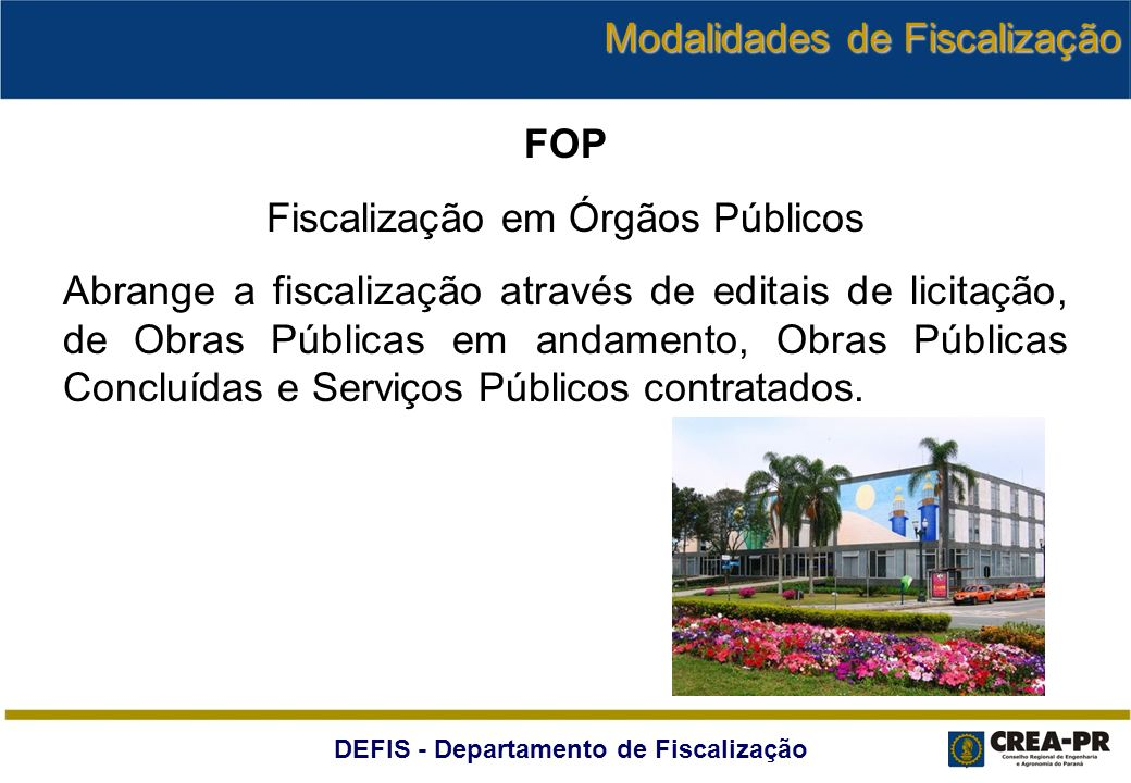 Fiscalização em Órgãos Públicos