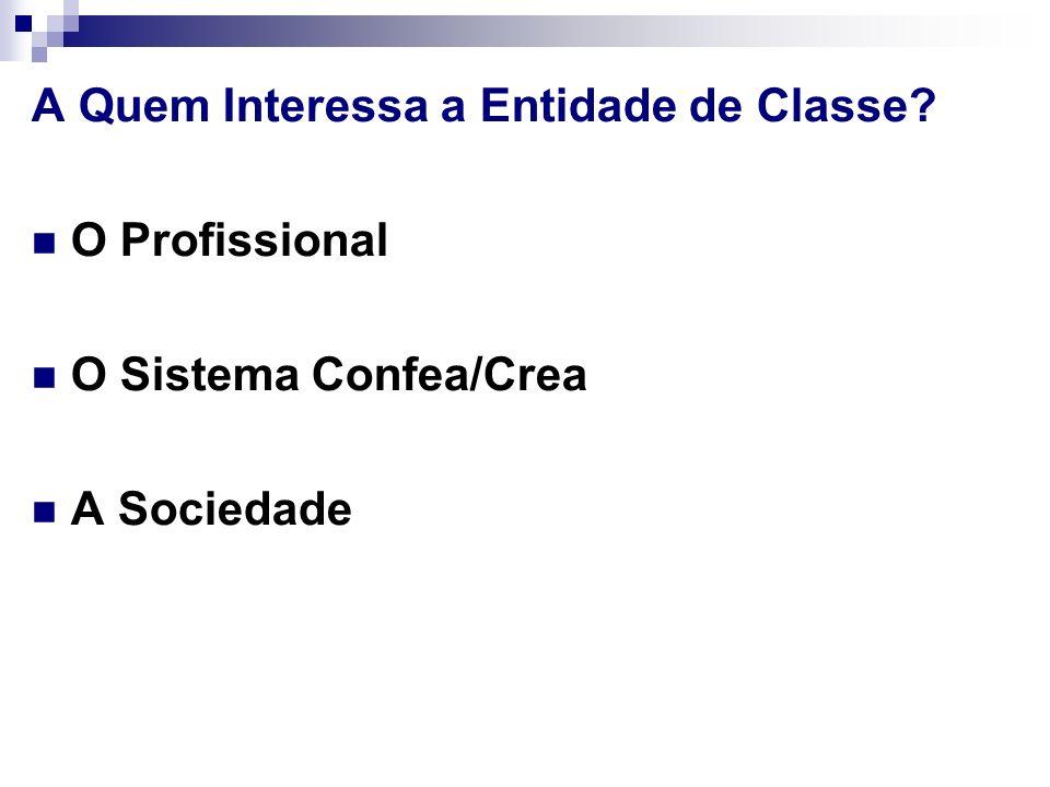 A Quem Interessa a Entidade de Classe