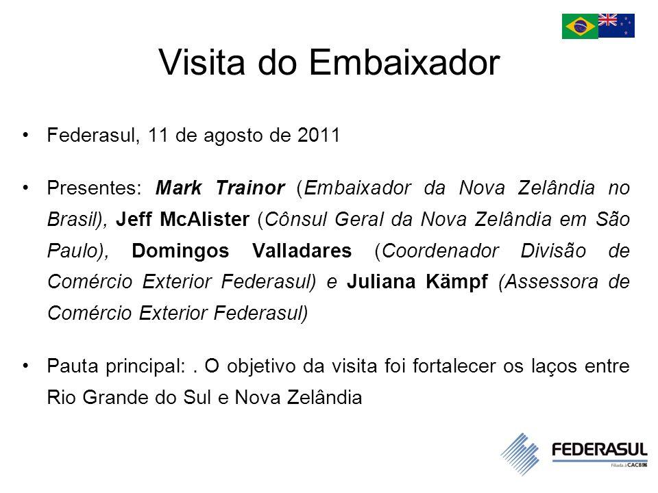 Visita do Embaixador Federasul, 11 de agosto de 2011