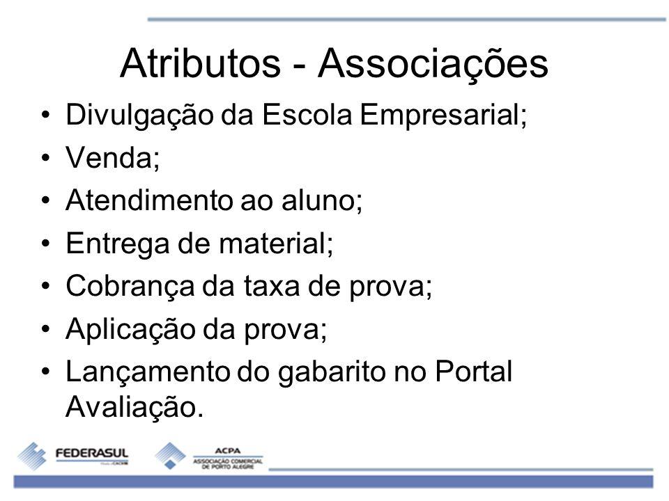 Atributos - Associações