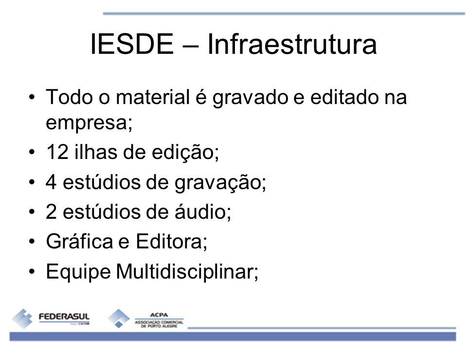 IESDE – Infraestrutura