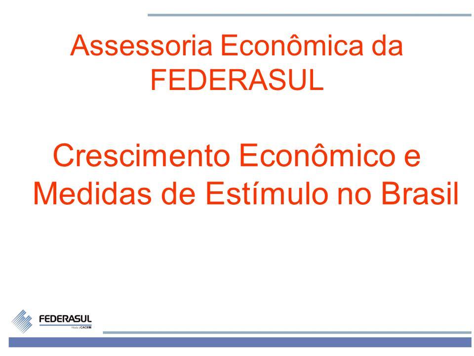 Crescimento Econômico e Medidas de Estímulo no Brasil
