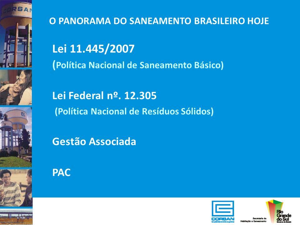 Lei 11.445/2007 (Política Nacional de Saneamento Básico)