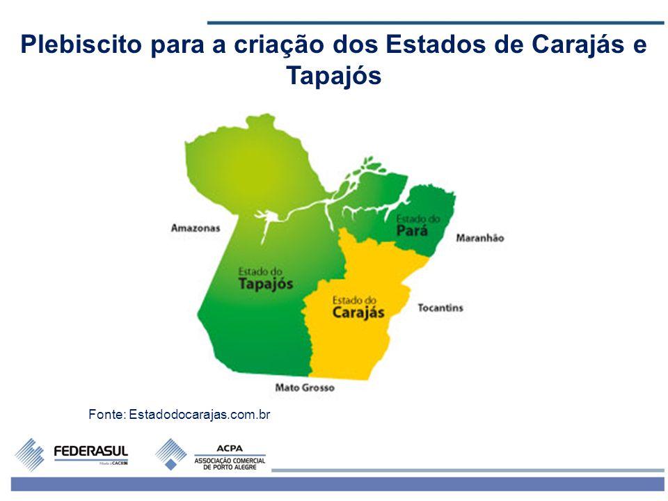Plebiscito para a criação dos Estados de Carajás e Tapajós