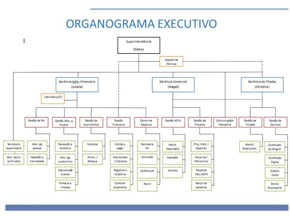 ORGANOGRAMA EXECUTIVO